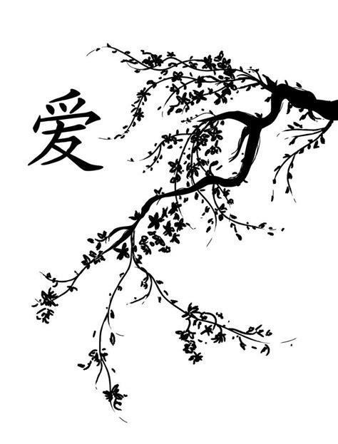 black and white cherry blossom tattoo japanese cherry embroidery patterns japanese cherry