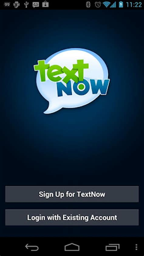 text now app for android textnow free unlimited texting app now available on android