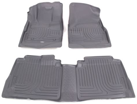 floor mats for 2012 chevrolet equinox husky liners hl98132