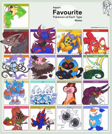 Favorite Pokemon Meme - favorite pokemon gen 6 images pokemon images