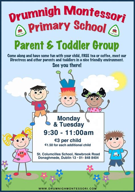 toddler tuesday taking away your child s security drumnigh montessori primary school parent toddler group
