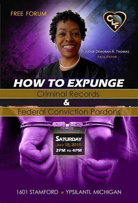 How To Expunge A Criminal Record Judge Deborah A How To Expunge Criminal Records Federal Pardons