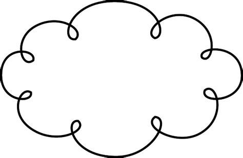 black doodle cloud  clip art luvly