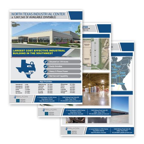commercial real estate brochure template commercial real estate flyers ml