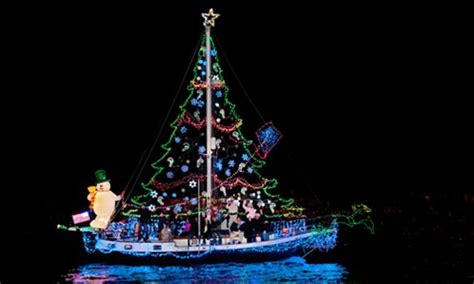 dinner on a boat pensacola 2011 christmas boat parades in florida gulf coast