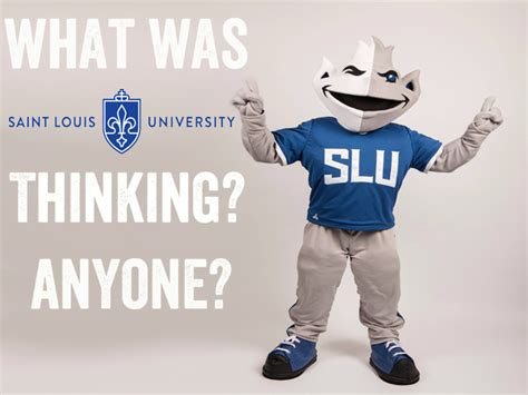 billiken logo new the new billiken is awful what was louis