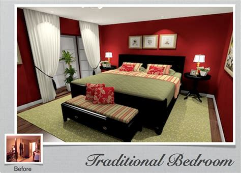 red wall bedroom master bedroom decorating ideas green traditional