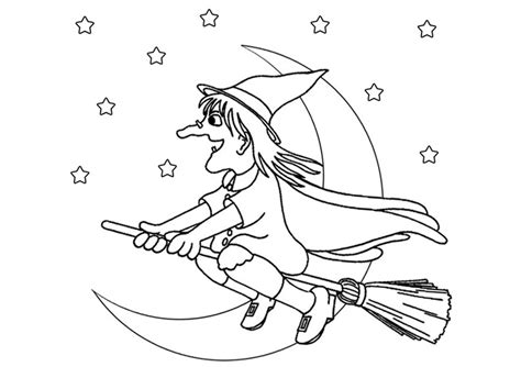 witches s free colouring pages