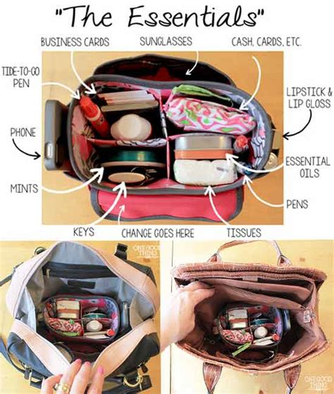 Get Organised With The Expandable Purse Organiser by A Fast And Easy Way To Switch Bags Or Purses Easy Hacks