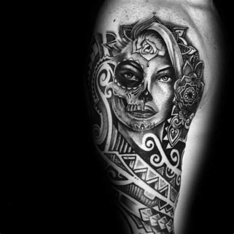 mexican catrina tattoo pictures to pin on pinterest