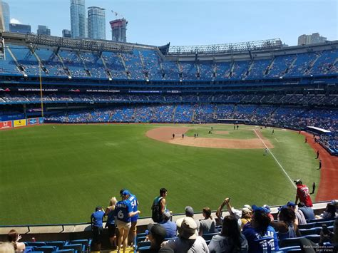 see section rogers centre section 240 toronto blue jays