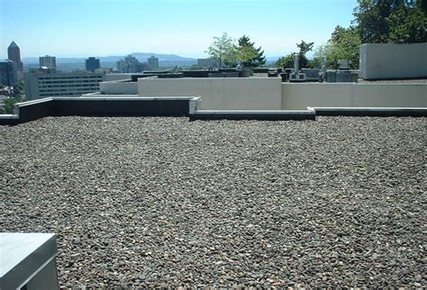 Types Of Garden - gravel roofs 187 anderson roofing