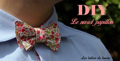 Diy Noeud Papillon by Diy Patron Gratuit Noeud Papillon Les Lubies De Louise Titre