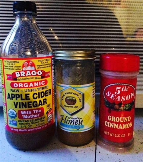 Apple Cinnamon Honey Detox by 1000 Ideas About Braggs Apple Cider Vinegar On