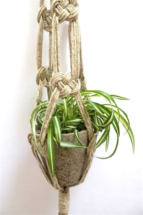 Macrame Knots Plant Hangers - 105 best macrame images on macrame wall