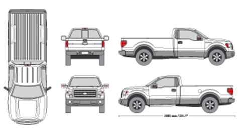 F150 Clipart Clipart Suggest Ford F150 Wrap Template