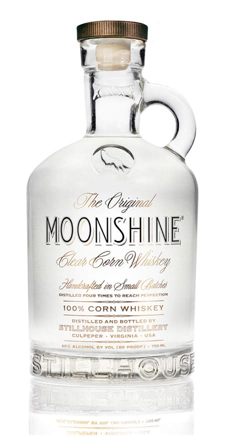 moon shine the original moonshine the dieline packaging