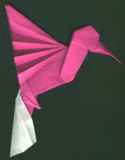 Origami Hummingbird Diagrams - hummingbird po archives