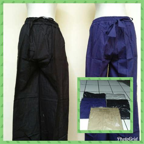 Kulot Katun Jepang celana kulot katun linen baju3500