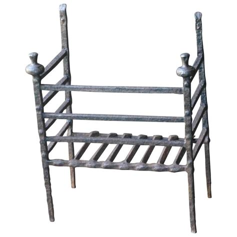 17th 18th century grate fireplace grate for
