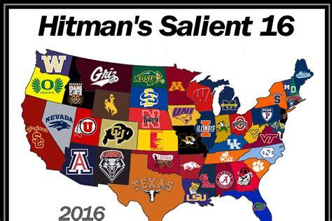 best college football sportsblog hitman s hits hitman s salient 16 1