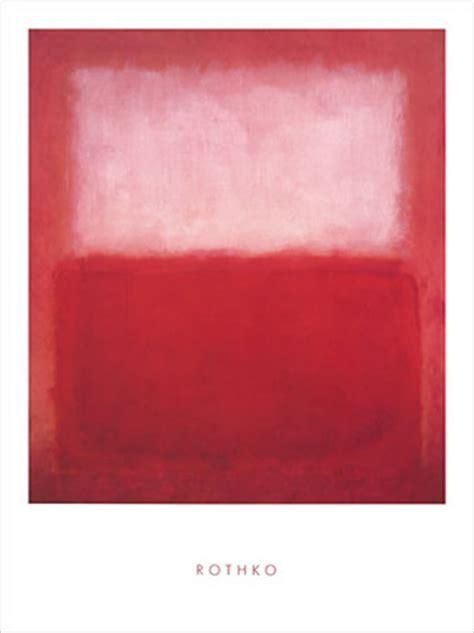 Rothko Kunstdruck by Rothko White Kunstdruck 60x80