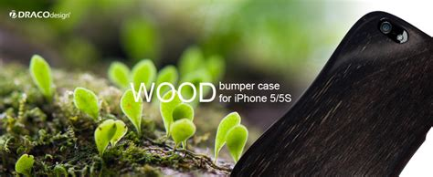 Iphone 5 5s Wooden Bumper wood bumper for iphone 5 5s