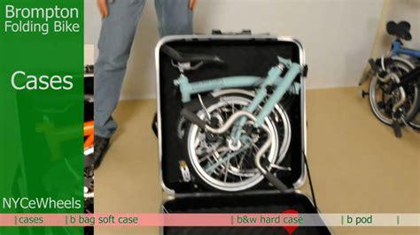 Tas Sepeda Dahon brompton folding bike travel cases