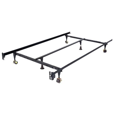 size adjustable steel bed frame with casters beds bed