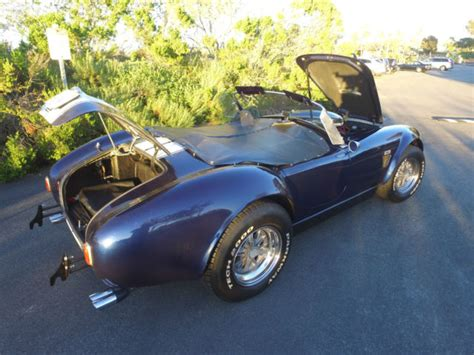 Cobra Exhaust Auto by Backdraft Racing Custom Cobra Kit Car Manufacturers