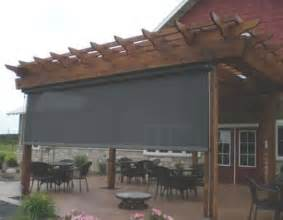 retractable sun shades for pergolas window design and rollers on