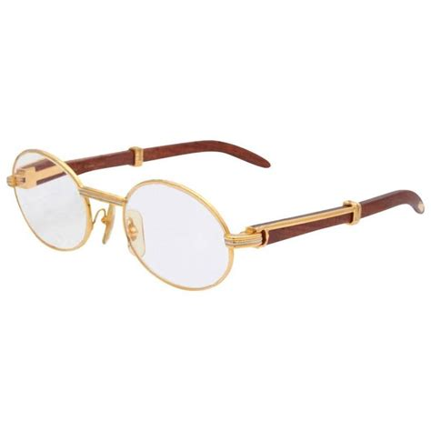vintage cartier giverny palisander sunglasses for sale at