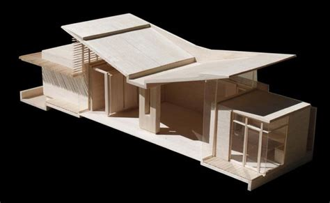 Second Floor House Plans by Model Of Butterfly Roof Architectural Models Pinterest
