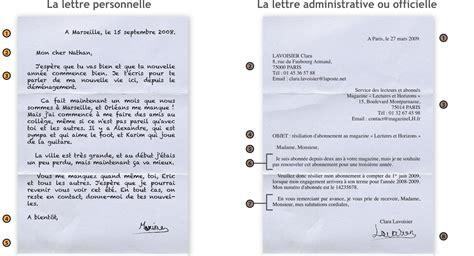 unime lettere comment commencer et finir une lettre en francais