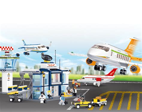 Free Shipping Sluban Building Block - aliexpress buy free shipping plane airbus plane
