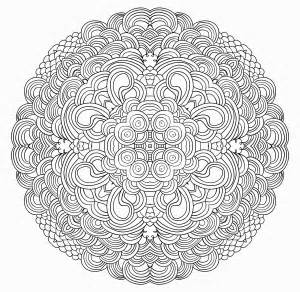 mandala coloring pages advanced level galleryhip hippest galleries
