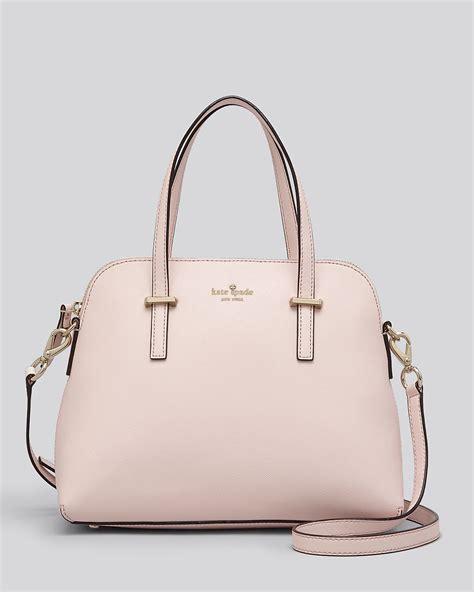kate spade new york cedar street maise bag handbags wka67931 the realreal lyst kate spade new york satchel cedar street maise in pink