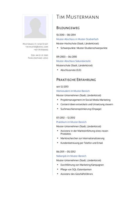 Lebenslauf Naturwissenschaftler Initiativbewerbung Muster F 252 R Psychologe Lebenslaufdesigns De