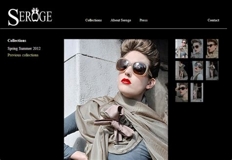 fashion design portfolio websites portfolio website for british fashion designer marketing