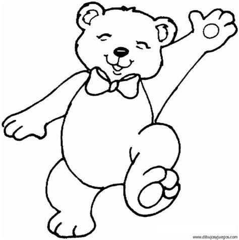 Imagenes Para Pintar Oso | dibujo de oso 018 dibujos y juegos para pintar y colorear