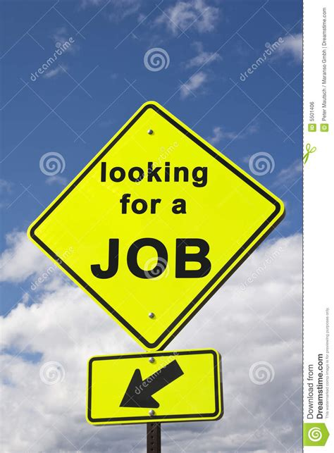 sign    job stock photo image  inscription