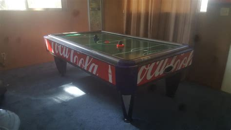 arcade quality air hockey table coca cola table for sale classifieds