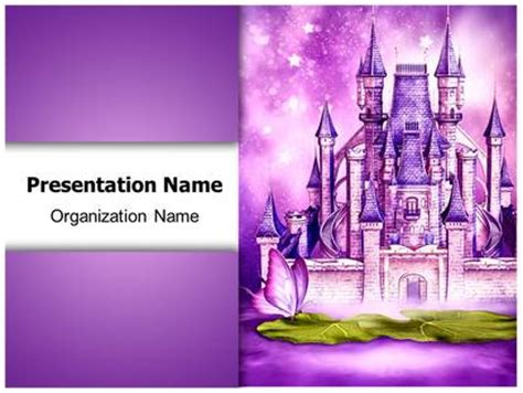 tale template powerpoint fairytale castle powerpoint template background