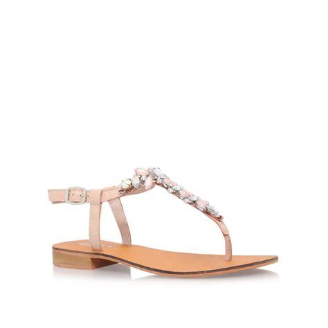 flat sandals by carvela kurt geiger