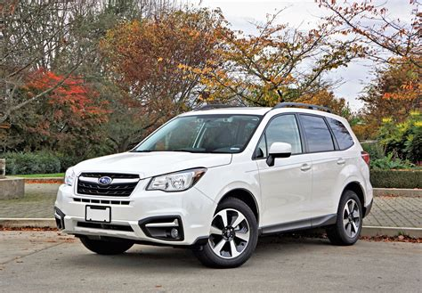 subaru forester touring 2017 2017 subaru forester 2 5i touring road test review the