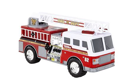 tonka mighty motorized fire truck tonka mighty motorized fire dept truck 82 engine lights
