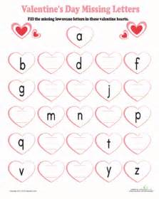 learning the alphabet worksheet education com
