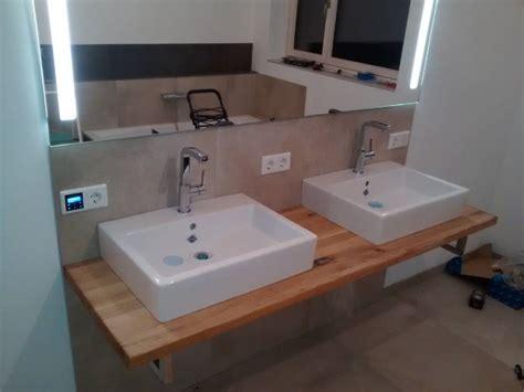 Badezimmer Unterschrank Mit Holzplatte by Holzplatte F 252 R Badezimmer Waschtisch Seite 2 Forum Auf