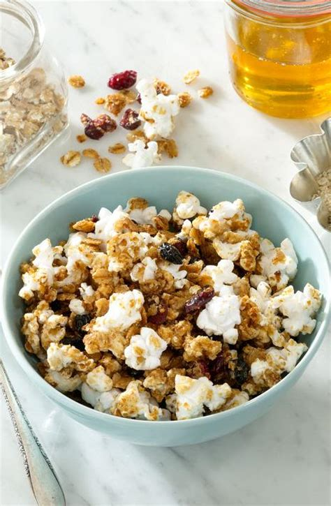 whole grains popcorn whole grain popcorn granola healthy toasted berry