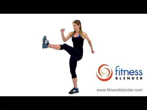 Blender Kick On standing abs standing abs workout and cardio on